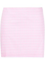 GRETA BOLDINI gingham check skirt - Rosa