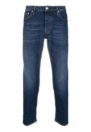 Haikure Jeans slim crop - Blu
