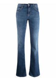 Haikure slim-cut flared jeans - Blu