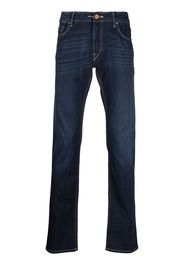 Hand Picked straight-leg jeans - Blu