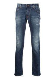 Hand Picked Jeans dritti a vita media - Blu