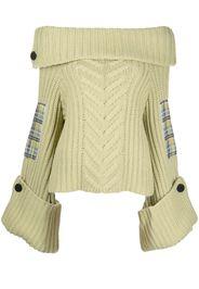 Hellessy chunky-knit roll-neck jumper - Verde