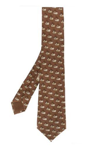 Cravatta anni 2000 con stampa
