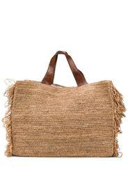 woven design tote bag