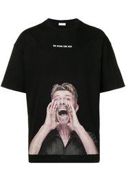 T-shirt con stampa David Bowie