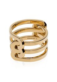 JEM 18K yellow gold triple-band ring - Oro