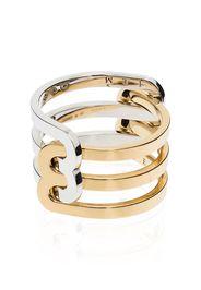 JEM 18K gold triple-band ring - Oro