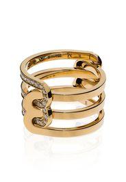JEM Étreintes two-piece ring - Oro