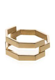 JEM 18K yellow gold octagon ring - Oro