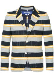 striped slim blazer