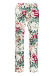 Pantaloni a fiori anni 2000