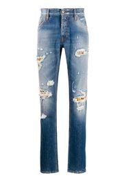 Jeans con effetto vissuto