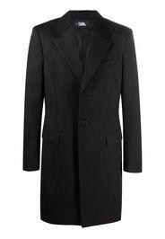 Karl Lagerfeld Cappotto con stampa - Nero