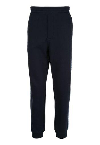 Pantaloni sportivi con banda logo
