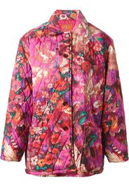 Kenzo Pre-Owned 'Pegas' print quilted coat - Rosa