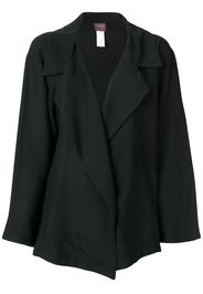 wide lapels loose jacket