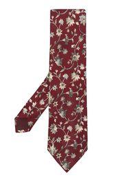 Kenzo Pre-Owned Cravatta a fiori - Rosso
