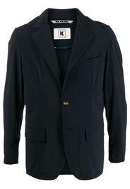button-fastened lightweight jacket