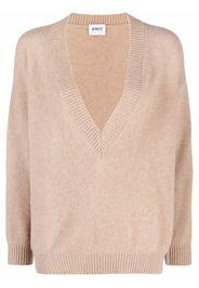 KNIIT MILANO V-neck cashmere jumper - Toni neutri