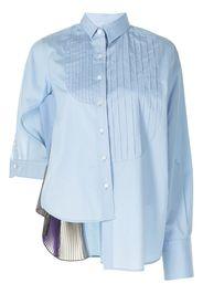 Kolor Camicia plissettata - Blu