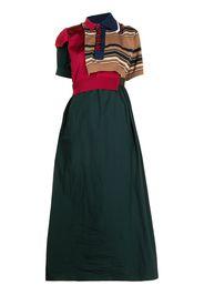 Kolor Vestito con design color-block - Verde