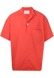 Kolor boxy short-sleeve shirt - Nero