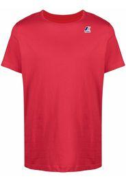 KWAY T-shirt a girocollo - Rosso