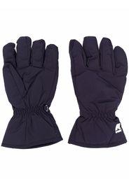KWAY Freyr logo-patch gloves - Blu