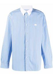 Lacoste Live striped logo shirt - Blu