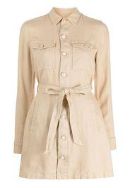 L'Agence Samantha fitted jacket - Toni neutri