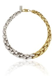 Lauren Rubinski 14K yellow and white gold two-tone link necklace - Oro