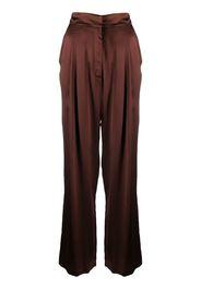 Pantaloni a gamba ampia Sansha