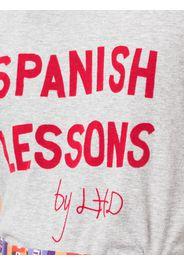 T-shirt con slogan