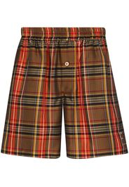 Bennett check Bermuda shorts