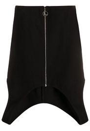 cut-out mini skirt