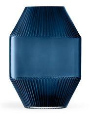 LSA International Rotunda glass vase - Blu