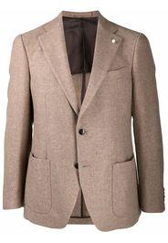 LUIGI BIANCHI MANTOVA tailored dinner jacket - Toni neutri