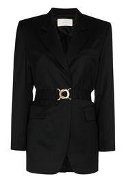 Summer belted blazer