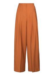 LVIR high-rise flared trousers - Arancione