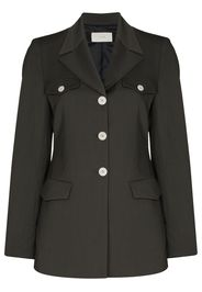 LVIR contrasting-button single-breasted blazer - Verde