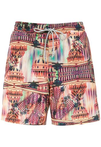 Gil Elastic swim shorts