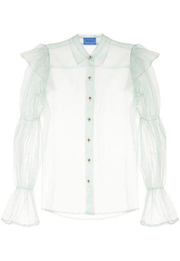 Blusa semi trasparente Souffle