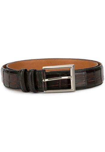 brushed effect belt