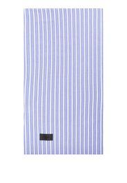 Magniberg vertical-stripe pillow case - Blu