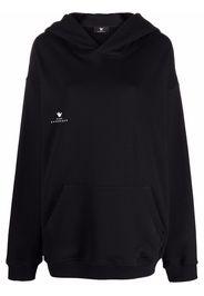 Maison Bohemique chest logo-print hoodie - Nero