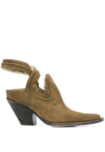 cut-out cowboy boots