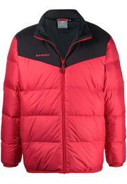 two-tone padded coat
