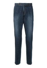 Man On The Boon. Jeans dritti - Blu