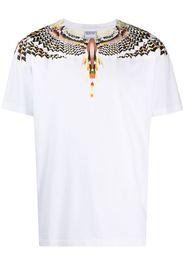 Marcelo Burlon County of Milan T-shirt con stampa Wings - Bianco
