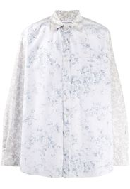 floral long-sleeve shirt